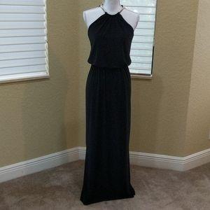Black MSK Evening Dress Sleeveless 4